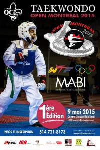 Affiche Open montreal 2015